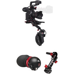 Zacuto Gratical Eye Recoil Pro V2 Bundle for Canon C100 Mark II