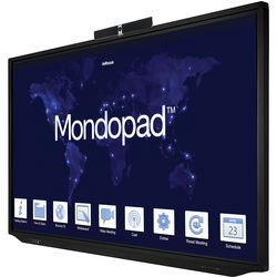 "InFocus 86"" Mondopad 4K Touch Display Integrated I7 PC with Camera, Mouse, Keyboard, Anti-Glare"