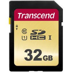 Transcend 32GB 500S UHS-I SDHC Memory Card