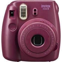 Fujifilm instax mini 8 Instant Film Camera (Plum)
