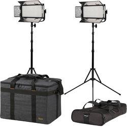 ikan Mylo Half x 1 Daylight LED 2-Point Light Kit
