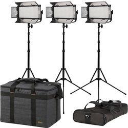 ikan Mylo Half x 1 Daylight LED 3-Point Light Kit