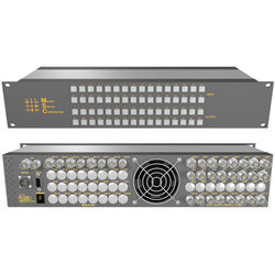Matrix Switch 8 x 24 3G-SDI Video Router with Button Panel (Aviation)