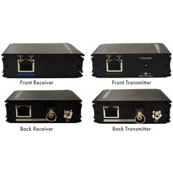 Speco Technologies Ethernet and Power Extender over Coax Transmitter & Receiver Kit