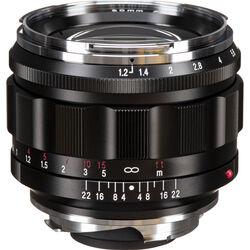 Voigtlander Nokton 50mm f/1.2 Aspherical Lens