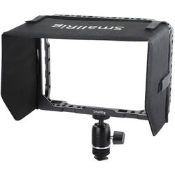 """SmallRig 1988 7"""" Monitor Cage with Sunshade for Blackmagic Video Assist 4K"""