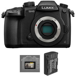 Panasonic Lumix DC-GH5 Mirrorless Micro Four Thirds Digital Camera with V-Log L Activation Code Kit