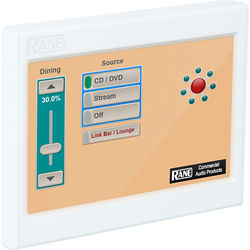 Rane Commercial DR6 Touchscreen Remote Control for Halogen Network Systems