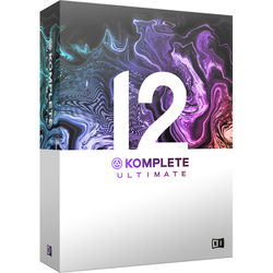 Native Instruments KOMPLETE 12 ULTIMATE - Virtual Instruments and Effects Collection (Upgrade from KOMPLETE 8 - 12)