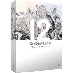 Native Instruments KOMPLETE 12 ULTIMATE Collector's Edition - Virtual Instruments and Effects Collection (Upgrade from KOMPLETE 8 - 12 ULTIMATE)