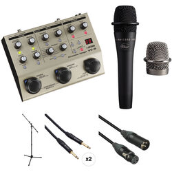 BOSS VE-8 Acoustic Singer Kit with Blue enCORE Mic and More