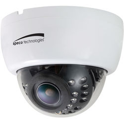 Speco Technologies HD-TVI Indoor Dome with IR/ 2.8-12mm VF Lens, 12/24V (White Housing)