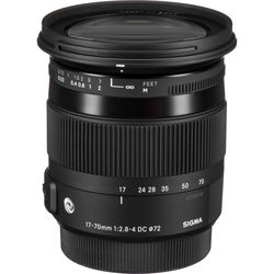 Sigma 17-70mm f/2.8-4 DC Macro OS HSM Contemporary Lens for Nikon F