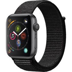 Apple Watch Series 4 (GPS Only, 44mm, Space Gray Aluminum, Black Sport Loop)