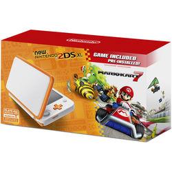 Nintendo 2DS XL Mario Kart 7 Bundle (White + Orange)