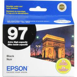 Epson T097120 97 Extra-High Capacity Black Ink Cartridge