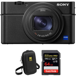 Sony Cyber-shot DSC-RX100 VI Digital Camera with Accessory Kit