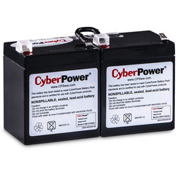 CyberPower Replacement Battery Cartridge for CP1350PFCLCD, 2 Batteries, 12V/7Ah