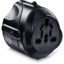 CyberPower TRA1A2 International 4-In-1 Travel Adapter