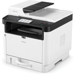 Ricoh SP330SFN Multifunction Laser Printer (Black and White)