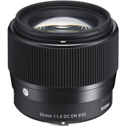Sigma 56mm F1 4 DC DN Contemporary Lens | B&H Photo Video