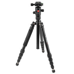 Oben AT-3565 Aluminum Tripod and BZ-217T Triple-Action Ball Head