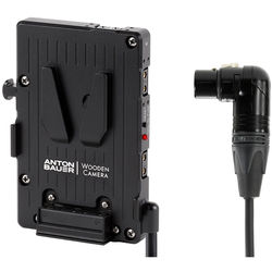 Wooden Camera Wooden Camera - WC Pro V-Mount (4Pin XLR RiGHt Angle)