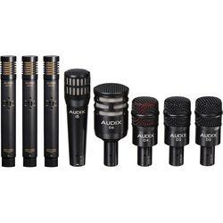 Audix DP7 Plus Complete Drum Microphone Package (8 Microphones)