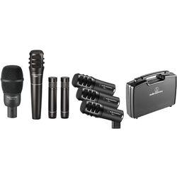 Audio-Technica PRO-DRUM7 Pro Series Drum Microphone Set (7-Piece)
