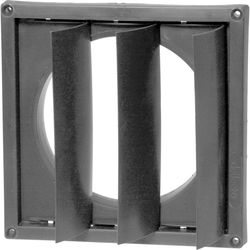 """Delta 1 8""""x 8"""" Outside Wall Flange for 6"""" Duct"""