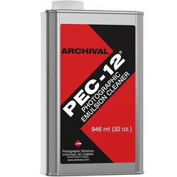 Photographic Solutions Pec-12 Photo Emulsion Cleaner for Color & B&W Film & Paper - 1 Quart