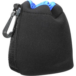 Zing Designs SPB1 Small Drawstring Pouch (Black/Blue)