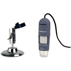 Celestron 44302-C Deluxe Handheld Digital Microscope (Gray)