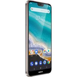 Nokia 7.1 Dual-SIM 64GB Smartphone (Unlocked, Steel)