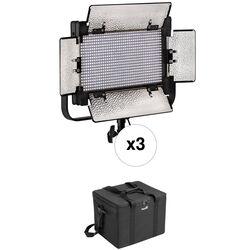 Genaray SpectroLED SP-S-800D Daylight Studio LED 3-Light Kit