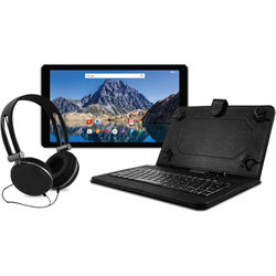 "Ematic 10.1"" EGQ236 16GB Tablet Bundle (Black)"