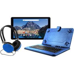 "Ematic 10.1"" EGQ236 16GB Tablet Bundle (Blue)"