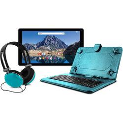 "Ematic 10.1"" EGQ236 16GB Tablet Bundle (Teal)"