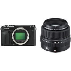 FUJIFILM GFX 50R Medium Format Mirrorless Camera with 63mm Lens Kit