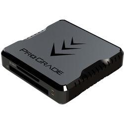 ProGrade Digital PG06 Dual-Slot CompactFlash & UHS-II SDXC USB 3.1 Gen 2 Type-C Card Reader