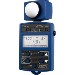 Spectra Cine Professional IV-A Digital Exposure Meter (Blue)