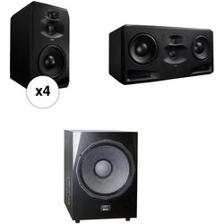 Adam Professional Audio The Brooklyn Matched 5.1 Surround System