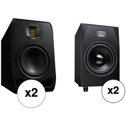 """Adam Professional Audio The Hamburg Matched 2.2 System with 7"""" 2-Way Monitors and 12"""" Subwoofers"""