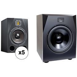 Adam Professional Audio Nashville - 5.1 Bundle with A8X Monitors & Sub15 Subwoofer