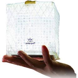 Solight Design SolarPuff Collapsible Bright-White LED Lantern