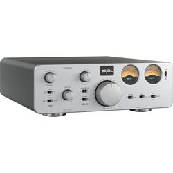 SPL Crossover - Active Analog 2-Way Crossover for Pro Audio and Hi-Fi Applications (Silver)