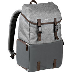 Manfrotto Windsor ExplorerCamera and Laptop Backpack for DSLR (Gray)