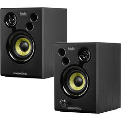 "Hercules DJMonitor 32 - 3"" Active Multimedia Speakers (Pair)"