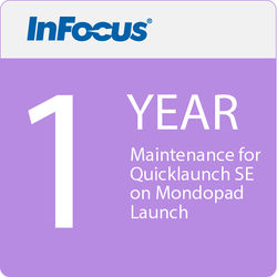 InFocus Maintenance for Quicklaunch SE for Mondopad Launch (1-Year Subscription, Download)