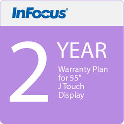 """InFocus 2 Year Warranty Plan for 55"""" J Touch Display (E Delivery)"""